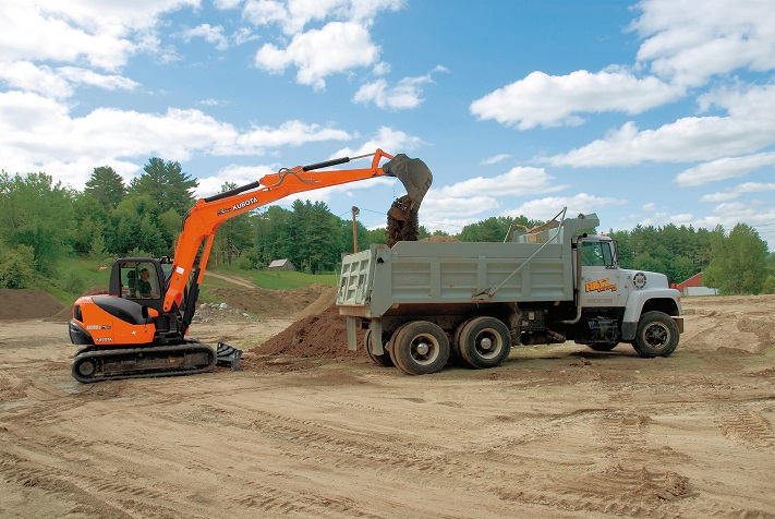 Small footprint, high power: Kubota KX080-3S comes to SA