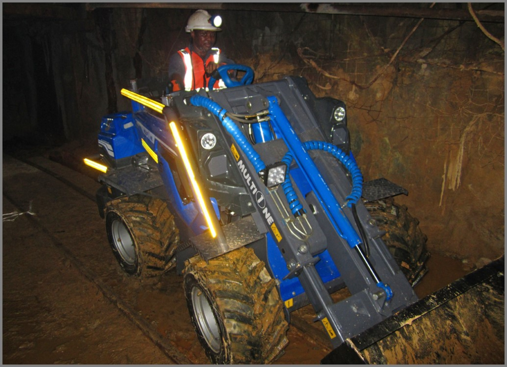 MultiOne SA Launches Underground Mining Loader