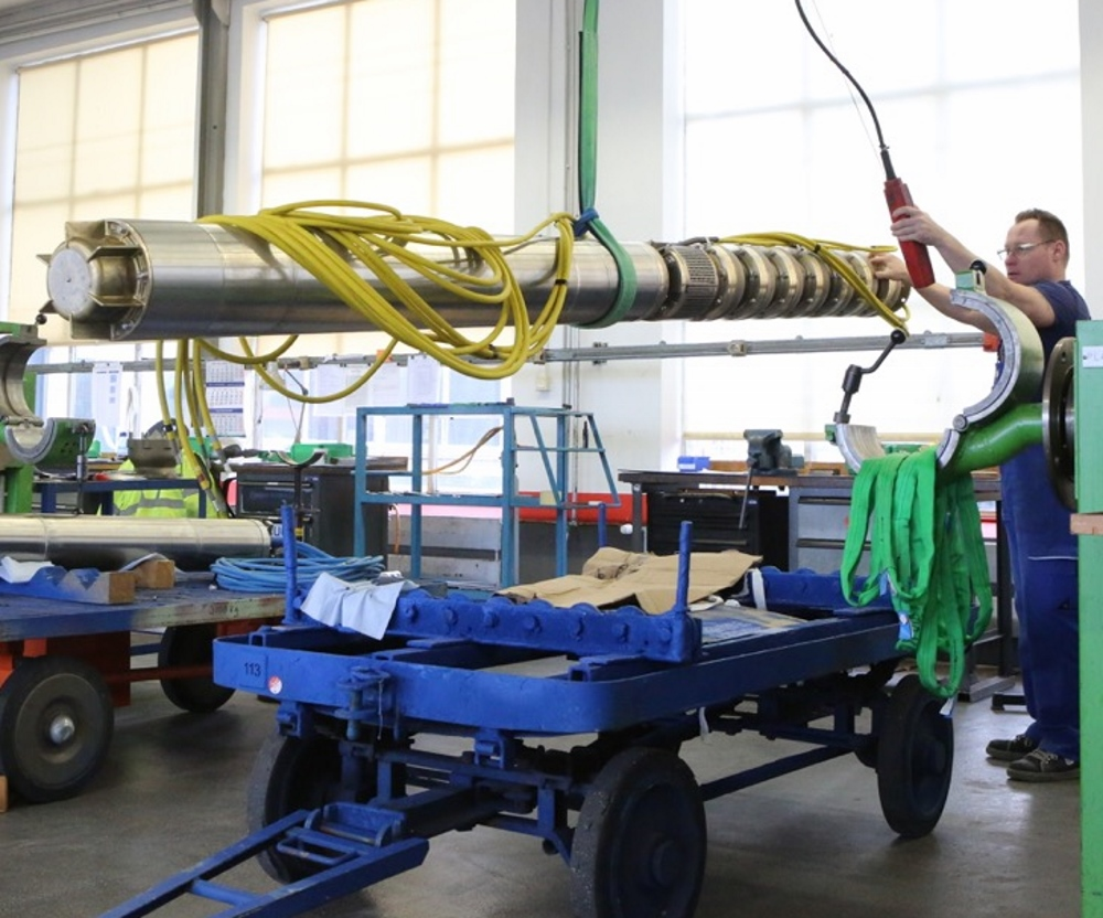 Pleuger Industries supplies process water pumps to Chile's leading copper mine