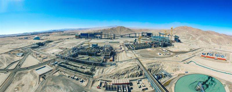Metso delivers a major performance solutions contract at Sierra Gorda mine in Chile