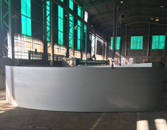 Best ranked tanks: Betterect employs pan-African project know-how and SA steel to build tanks for RioZim mine