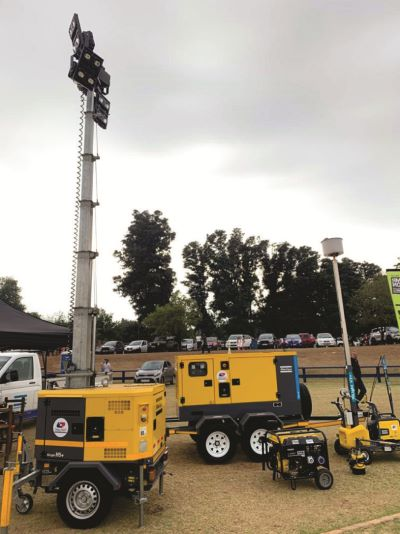 Atlas Copco HiLight LED light towers shine light on performance and efficiency