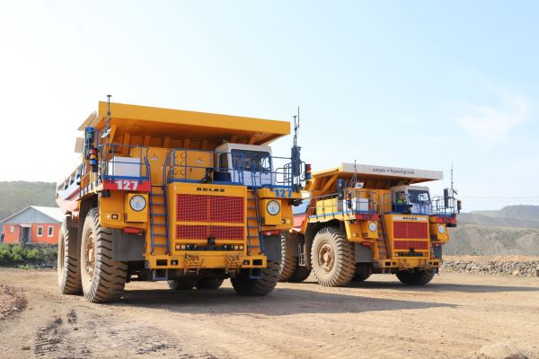 Russia starts using 5G network on autonomous mining dump trucks