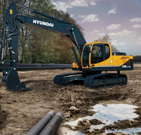 HPE Africa - Hyundai R260LC-9S fuel-efficient crawler excavators 2020