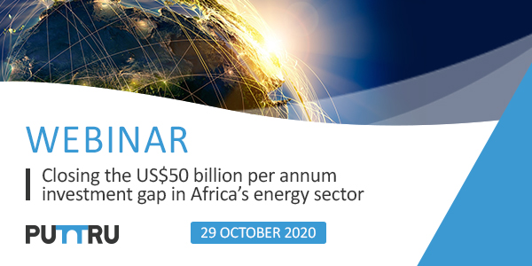 Closing the US$50 Billion Per Annum Investment Gap in Africa's Energy Sector