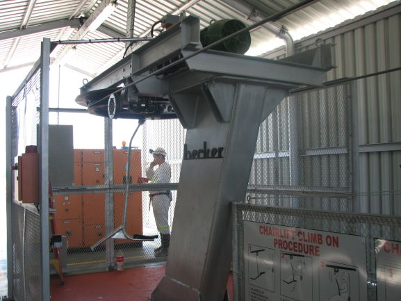 Becker Mining South Africa launches new upgraded chairlift PLC panels for increased safety in the mining sector