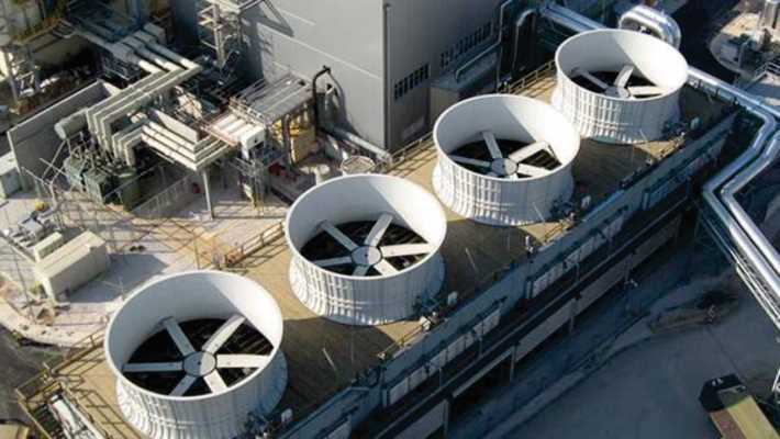 BMG's Hansen gearboxes enhance performance of wet and dry cooling towers in mining